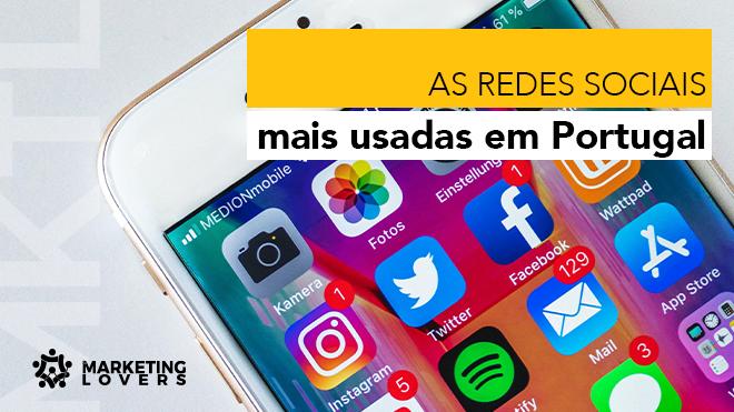 As redes sociais mais usadas em Portugal